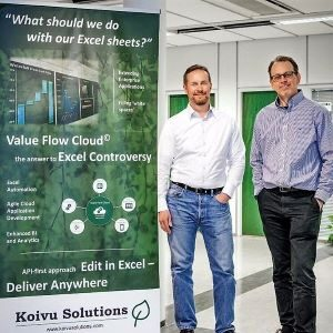 Koivu's cloud solution streamlines Excel-based processes